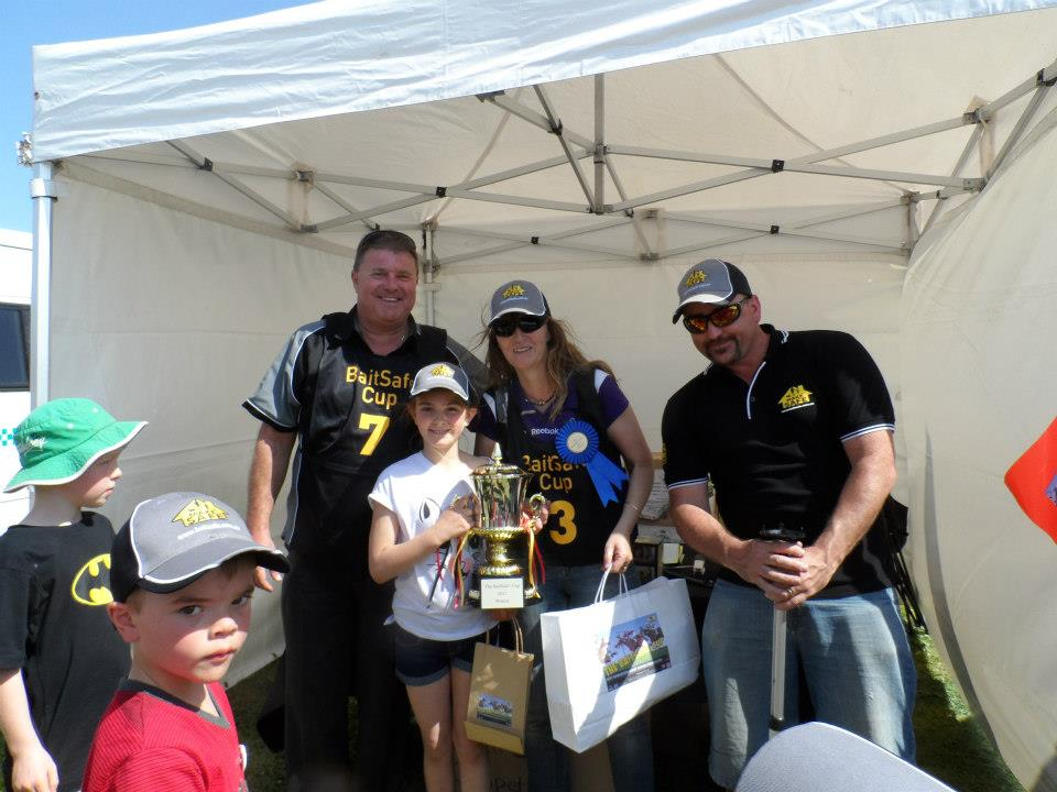 First prize in the BaitSafe® Cup on the second day went to Nardi and Kim . Congratulations from the boys at MakeSafe®