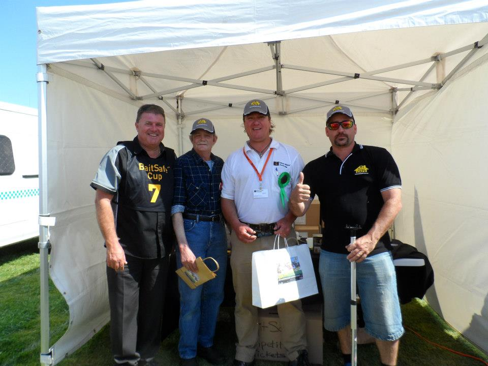 Third prize in the BaitSafe® Cup on the second day went to Jason and Co. Congratulations from the boys at MakeSafe®