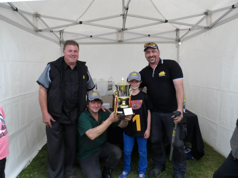 Young Saxton Mitchell and Mark Dowling teamed up to win the BaitSafe® Cup today. Saxton was a very proud young man and congratulations from the MakeSafe® Boy's