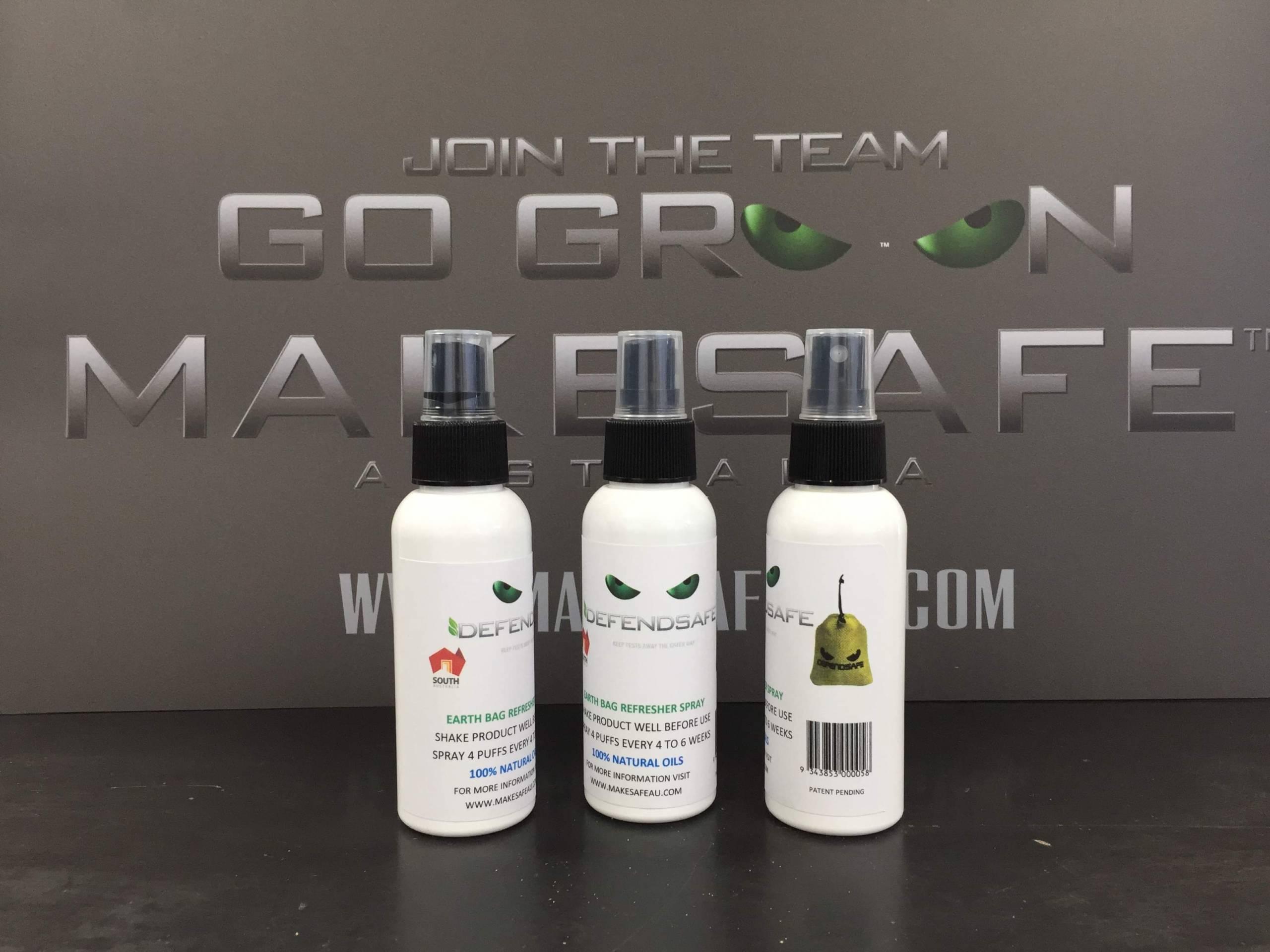 Earth Bag Refresher Spray Bottle 100 ML